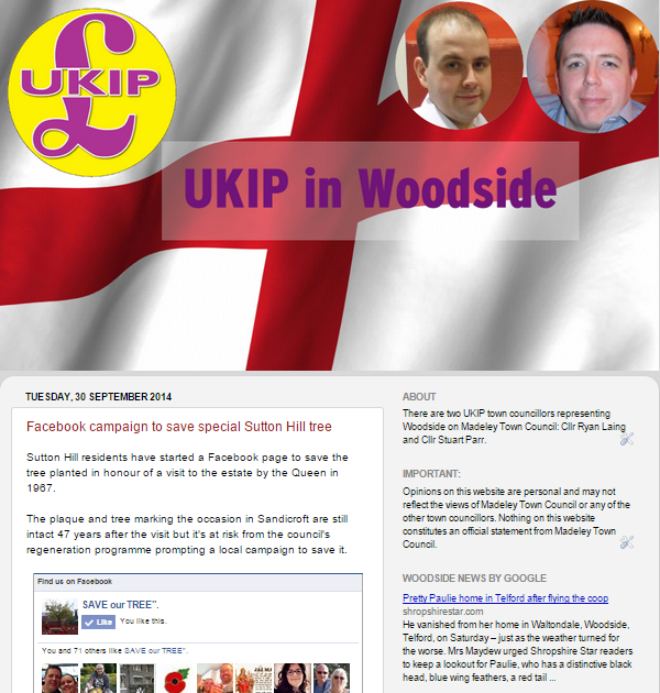 UKIP in Woodside