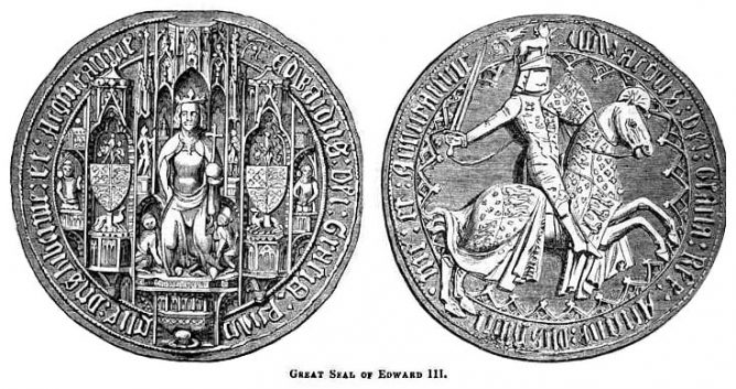 Edward III Great Seal of England