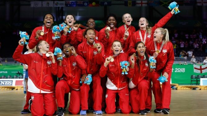 England Commonwealth Netball Team