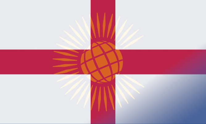 Commonwealth England Flag