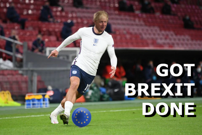 Boris Got Brexit Done